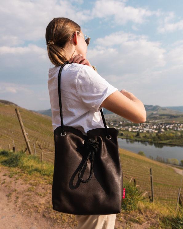 Lederhandtasche-Säckle-Handtasche-Braun-Herbstkollektion