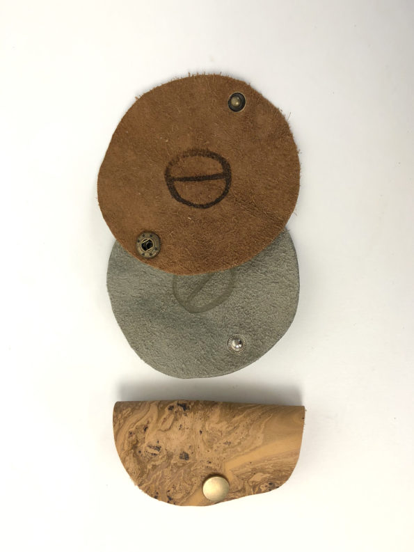 Lederaccessoire-Kabelhalter-Organizer-Kopfhörerhalter